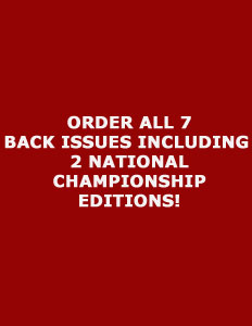 Order ALL 8 Back Issues of BAMATIME Magazine, Includes 2 National  Championship Editions
